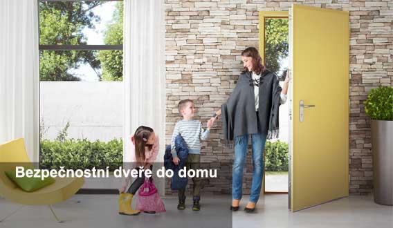 vchodové bezpečnostní dveře do domu Plzeň