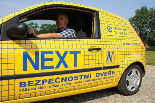 Vchodové bezpečnostní dveře Next Plzeň